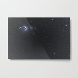 Great Nebula in Orion, Wide Angle View. Metal Print
