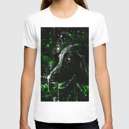 black labrador retriever dog wsde T-shirt