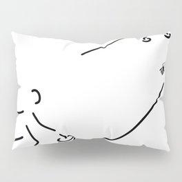 curling curling winter sports Pillow Sham