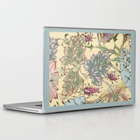 tiffany Laptop & iPad Skins featuring tiffany garden by Ariadne