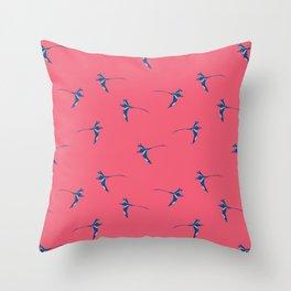 Douceur Alizée Framboise Throw Pillow