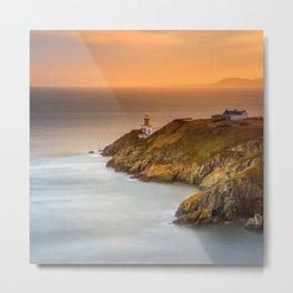 Baily Lighthouse Metal Print