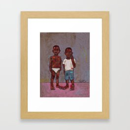 2018 Not Your Property for Control (enslaved not considered national immigrants) Framed Art Print