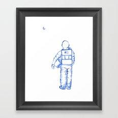 Astronaut Mark Kelley Framed Art Print