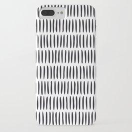 Classy Handpainted Stripes Pattern, Scandinavian Design iPhone Case