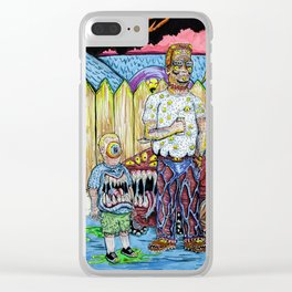 King of the Propane Clear iPhone Case