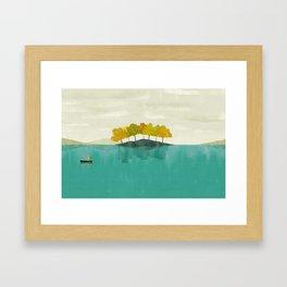 LIVE IN DIFFERENT WORLDS Framed Art Print