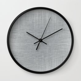 Pale Blue Minimal Hatching Home Goods Pattern Wall Clock
