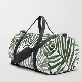 Watercolor simple leaves Duffle Bag