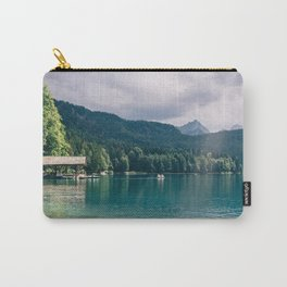Alpsee Summer Mountain Lake Carry-All Pouch