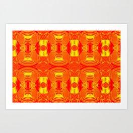 Drylight pattern Art Print