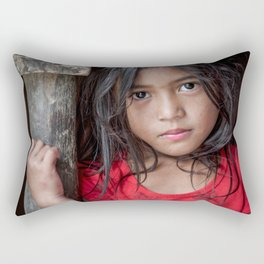 Red&Black Rectangular Pillow
