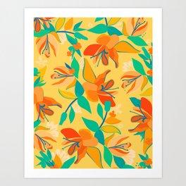 Hello Hibiscus Art Print