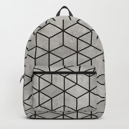 Random Concrete Cubes Backpack