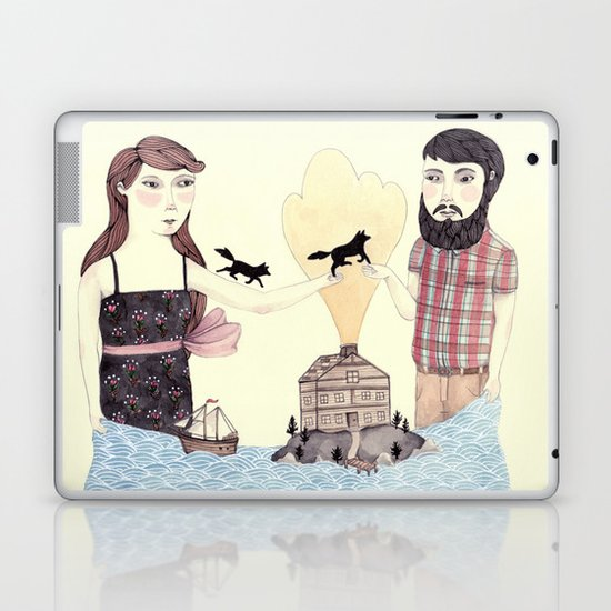 Giving Laptop & iPad Skin