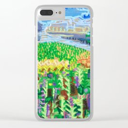 Tree on a Hill Clear iPhone Case