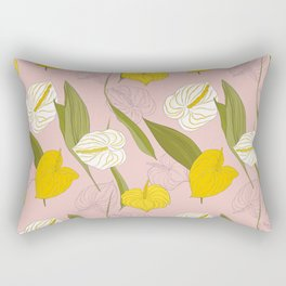 kala pink summer Rectangular Pillow