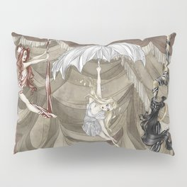 Midnight Circus: the Acrobats Pillow Sham