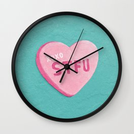"""Sweetheart"" Wall Clock"