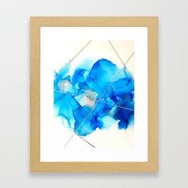 Azules Framed Art Print