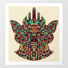 Dimensional Traveller I Art Print