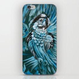 Blue Bird of Happiness iPhone Skin