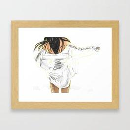 Morning Dance Framed Art Print