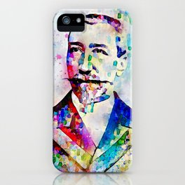 Portrait of Anatole France iPhone Case