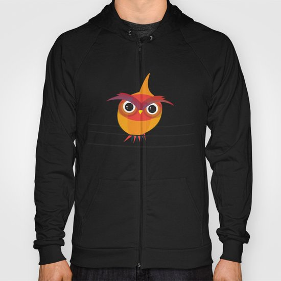 Owl On A Wire Hoody