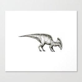 Parasaurolophus Canvas Print