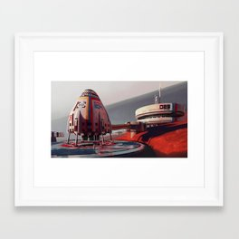 Shuttle 204 Framed Art Print