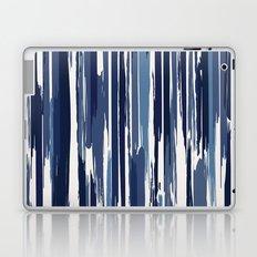 Painted Stripe Indigo Laptop & iPad Skin