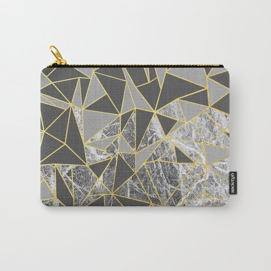 Ab Marb Grey Returned Carry-All Pouch