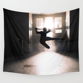 Jump contre jour Wall Tapestry