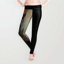 My Heart has Joined the Thousand, for my friend stopped running today. Leggings