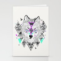 kris tate Stationery Cards featuring HONIAHAKA by Kyle Naylor and Kris Tate by Kyle Naylor
