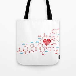 The chemistry of love Tote Bag