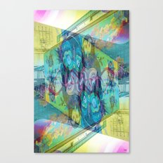 safety colourer Canvas Print