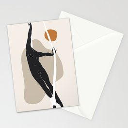 Dance # Nude 4 Stationery Cards