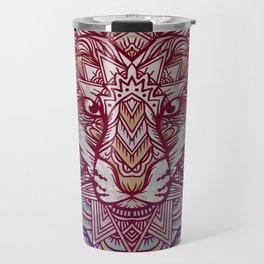 Wolf Ornament Travel Mug