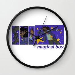 magical boy Wall Clock