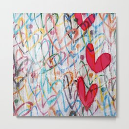 Oodles of Love Metal Print