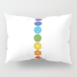 Chakras Pillow Sham