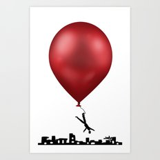 I am out of here... Art Print
