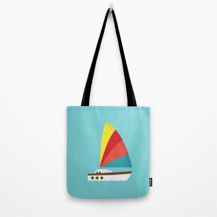 Sailboat II Tote Bag