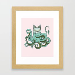 Catopus Framed Art Print