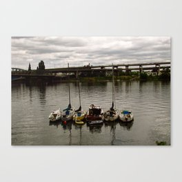 The Floating Life Canvas Print