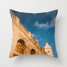 Paris Moon Throw Pillow