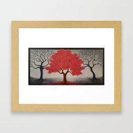 The Ichor Tree #1 Framed Art Print