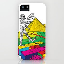 The mummy returns!  iPhone Case
